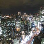 仕事帰りに大阪駅前第3ビルからの夜景ぶらり旅