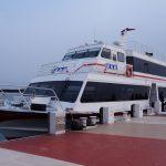 滋賀県びわ湖縦走港めぐり雪見船クルーズ散策ぶらり旅