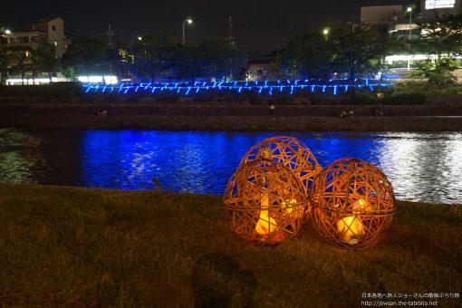 2015-08-03 京都府_京の七夕「鴨川会場」