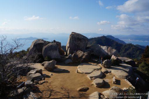 2014-01-05 広島県_弥山山頂