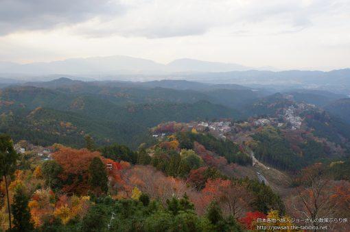 2014-11-23 奈良県_花矢倉展望台「紅葉」