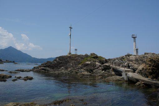 燈台付近から若狭富士と呼ばれる青葉山